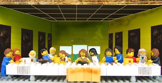 Ultima cena Lego