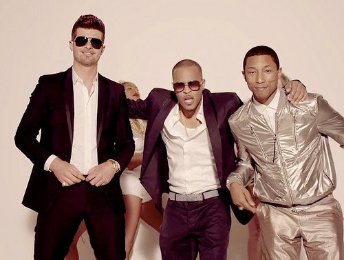 Blurred Lines ft. T.I. and Pharrell Robin Thicke