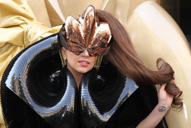 "Lady GaGa ""Fame"" Perfume Launch"