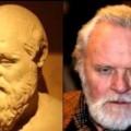 Socrate e Anthony Hopkins