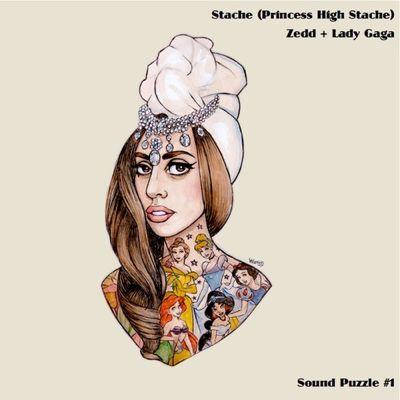 Stache Lady Gaga
