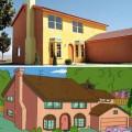 casa reale dei simpsons