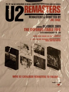 the unforgettable fire u2 remastered 2009